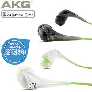 AKG In-Ear-Kopfhörer (Duo-Pack) mit Inline-Fernbedienung und Mikrofon - Quincy Jones Signatur-Modell (AKG Q350) bei IBOOD für 35,90 EUR (inkl. Versand)