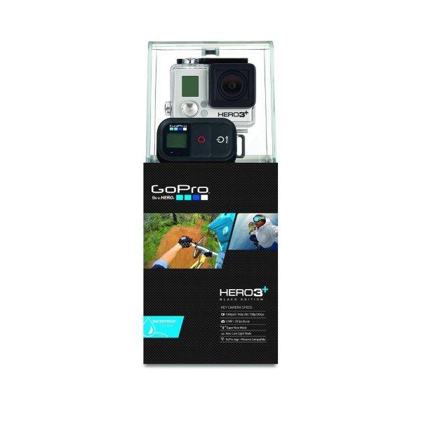 GoPro Actionkamera Hero3+ Black Edition Outdoor @amazon Zustand gut