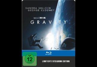 [Saturn.de] Gravity (Exklusive Steelbookedition) [Blu-ray] für 10,00€ + VSK