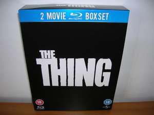 (UK) The Thing (1982) / The Thing (2011) Double Feature[Blu-Ray] für umgerechnet ca. 8.75€ @ Zavvi