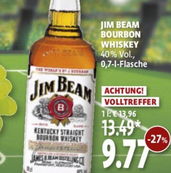 0,7L Jim Beam bei Kaisers für 9,77€