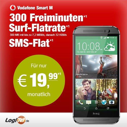 HTC One m8 mit Vodafone Smart M