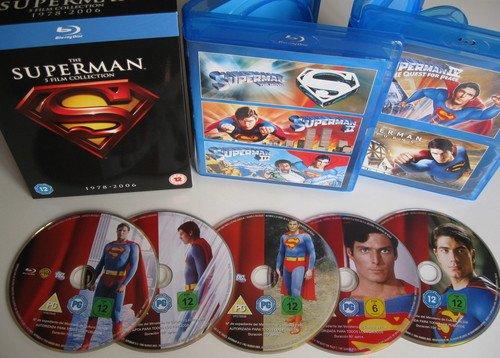 Superman - Die Spielfilm Collection 1978-2006 [Blu-ray] Amazon.co.uk