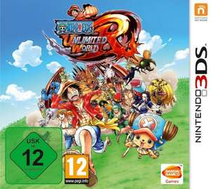 [Nintendo 3DS] One Piece Unlimited World Red  - 29,99€ Amazon