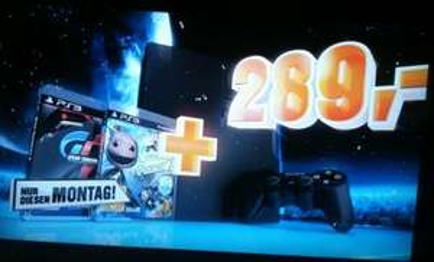 [Saturn] PS3 320GB inkl GT5 und LBP2 für 289€ NUR MONTAG