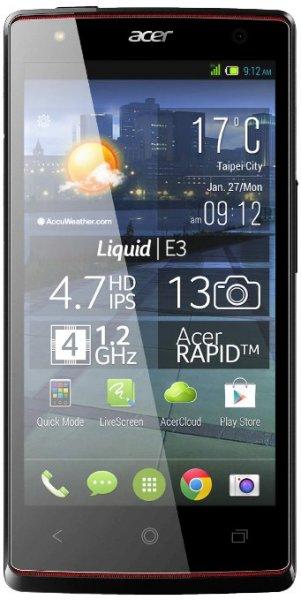 [Amazon Blitzangebot] Acer Liquid E3 Plus Dual-SIM titanium