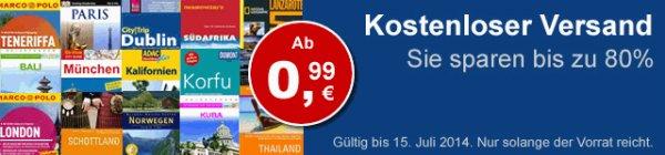 Sommerferien-Aktion - Reiseführer ab 0,99€ + versandkostenfrei! @ terrashop.de