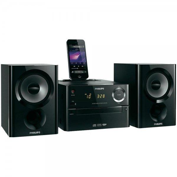 [Digitalo.de] Philips DCM1170 Stereoanlage (CD-Player, USB, iPhone, iPod, Lightning, UKW-Radio, AUX-In) inkl. Vsk