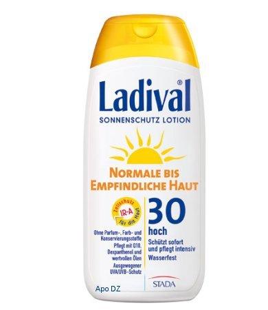 Kostenlose Sonnenschutz Proben von ladival bestellen