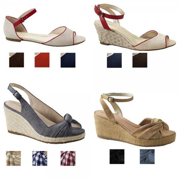 LANDS´ END Damenschuhe Sandaletten Sandalen  @ebay 19,95