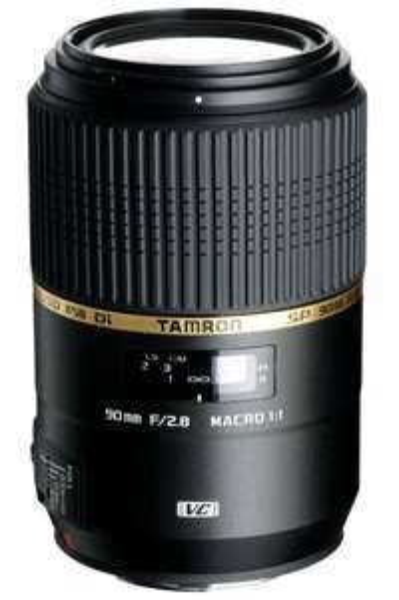 Tamron SP 90mm f2.8 Di VC USD Macro [Canon] @Amazon.fr für 366,30€ (Vergleichspreis: 425€)