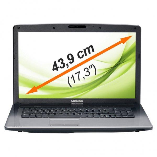 "Medion™ - 17.3"" Notebook ""AKOYA E7222 (MD99260)"" (Pentium 2020M 2x2.40GHz,4GB RAM,500GB HDD,1600x900 Non-Glare,USB 3.0,HDMI.Win 8) [B-WARE] ab €294,32 [@eBay.de]"
