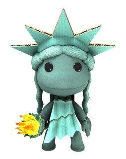 Kostenloser DLC Sacktue of Liberty-Kostüm [LittleBigPlanet] ab dem 4.7.14