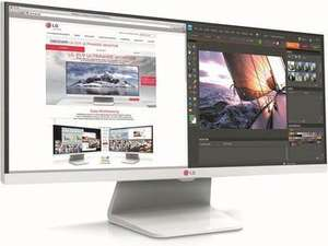 "LG 29UM65 UltraWide 29"" LED-Monitor 21:9 IPS QHD (5ms, 300cd/m2, 5000000:1, 2xHDMI, DVI-, Weiß) @getgoods 329€"