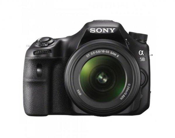 Sony Alpha SLT-A58K + 18-55 SAM