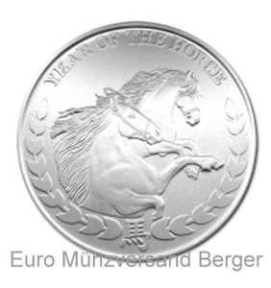 1 Unze Silber Somalia Pferd 2014
