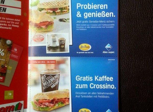 [Deutschlandweit] Gratis Genießer-Menü bei Aral (durch Toom Baumarkt)