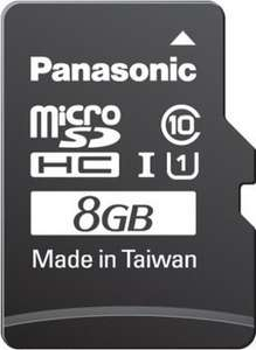 Panasonic microSDHC Gold 8GB Class UHS-I für 7,99€ @Computeruniverse