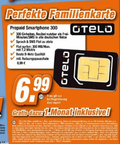 otelo Prepaid Smartphone 300
