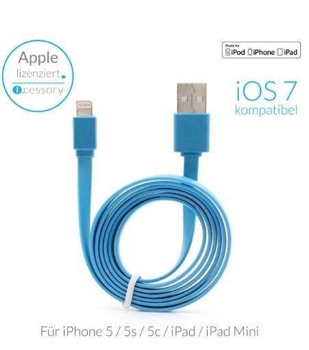 (Amazon) MFI zertifiziertes Apple Lightning-Kabel von icessory
