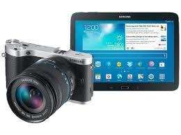 [Saturn] Sam­sung NX300 inkl. 18-55mm + Sam­sung Galaxy Tab 3 (16GB) + Lightroom 4.0 = 503,99 Euro ( 30% unter idealo)