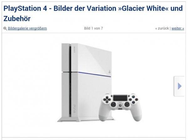 Sony Ps4 in weiß + Destiny für 440€