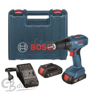 bosch akku schrauber gsr 1800 li 2 akkus 18v koffer 119 90 ebay. Black Bedroom Furniture Sets. Home Design Ideas