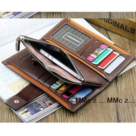 Herren Rindsleder Geldbörse / Portemonnaie (versch. Farbe und Model) für 16,70€ inkl. Versand