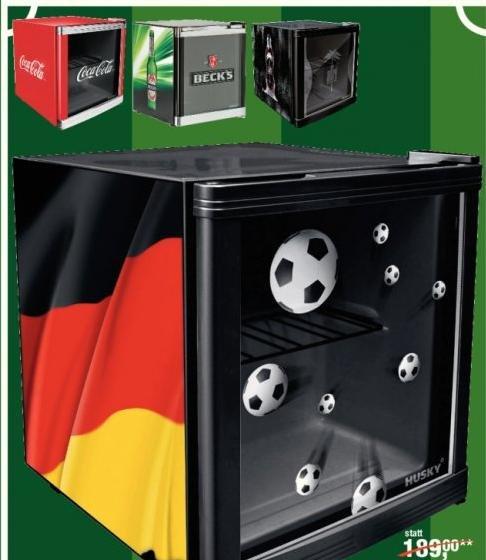 Husky CoolCube Kühlschränke, verschiedene Motive für 129,69 € @ Metro