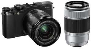 Fujifilm X-A1 Kit 16-50 mm + 50-230 mm für 420€ @Amazon.fr