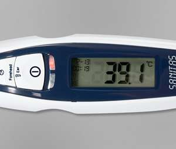 [Tchibo] Multifunktions-Infrarotthermometer SANITAS 12,00 € bzw. 16,95€