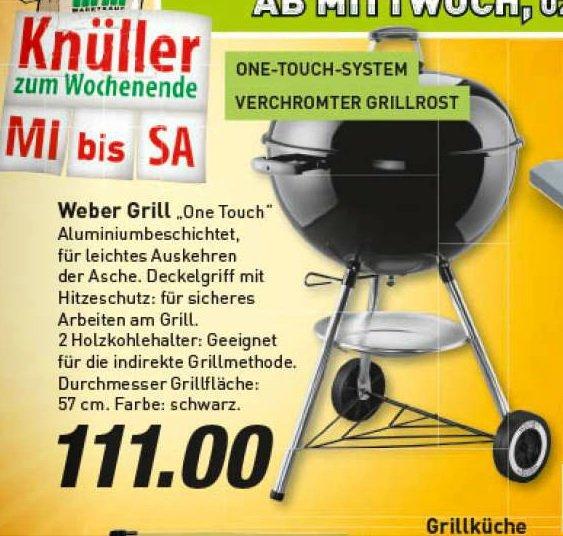 Weber One Touch Original Marktkauf Regional ? GE