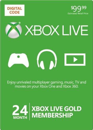 24 Monate Xbox Live Gold Mitgliedschaft für 52,49 €