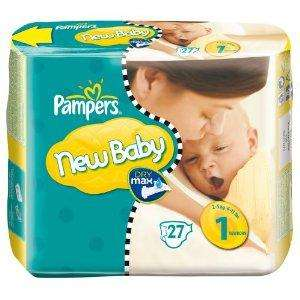 Pampers New Baby Windeln (Größe 1) Amazon SparAbo 20%