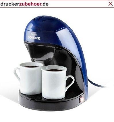Kaffeemaschine + 2 Tassen + Taschenmesser + Photocards 10,94 € bei Druckerzubehör - evtl. noch Gutschein kreieren!