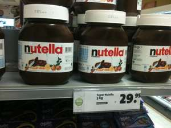 [Lokal Center Park Zandvoort] 5 Kg Nutella im Daily Foodstore