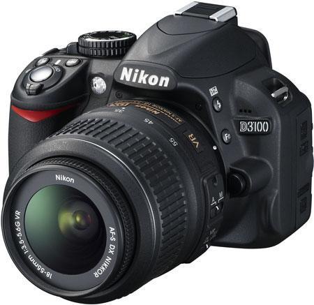 [Lokal Baden-Baden] Nikon D3100 Kit 18-55mm für 399,- €