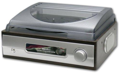 Karcher KA 8050 Schallplattenspieler für 24,95, 2.Wahl