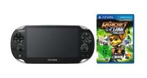 SONY PS Vita WiFi Konsole inkl. Ratchet & Clank Trilogy + 8GB Speicherkarte@Media Markt online