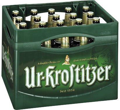Ur-Krostitzer Pilsner (20x0,5l) für 8€ bei Kaufland (lokal-regional) ganz Ost-Deutschland