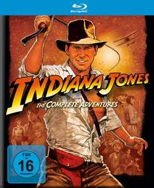Indiana Jones The Complete Adventures [Blu-ray]  @amazon.de