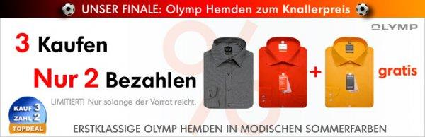 3 OLYMP/eterna/Seidensticker Hemden KAUFEN und nur 2 BEZAHLEN, excellent-hemd.de