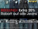 20% auf alle Jeans @mandm direct