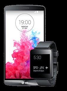 LG G3 16GB schwarz/gold inkl. G Watch für 529,90€ bei Vodafone