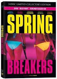 Spring Breakers Uncut Limitiertes 3-Disc Mediabook (Blu-ray + DVD + Soundtrack-CD) für 16,49 Euro inkl. Versand