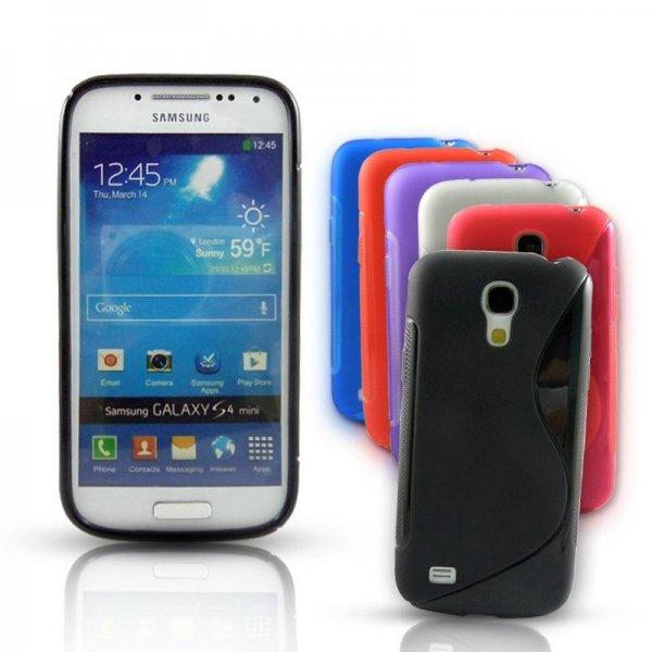 [EBAY] Samsung Galaxy S4 MINI S-LINE Schutzhülle + Folie + Reinigungstuch [2,99 Euro] kostenloser Versand aus D