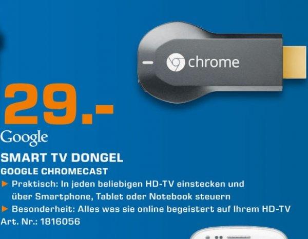 Google Chromecast für 29€ Lokal [Saturn Kerpen]