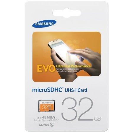 Samsung microSDHC EVO 32GB Class 10 UHS-I