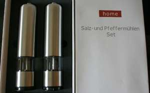 Salz-und Pfeffermühlen Set Home WMF