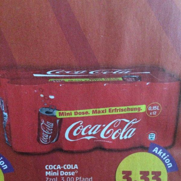 Coca Cola Mini Dose.